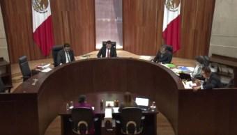 Foto: Durante la sesión de este viernes, los magistrados también ratificaron una multa a Morena por 725 mil 400 pesos por incumplir con obligaciones de transparencia (TEPJF YouTube)
