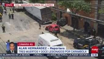 FOTO: Testigo relata accidente de tráiler en avenida Vasco de Quiroga, 26 MAYO 2019