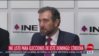 Todo listo para el desarrollo de la elecciones del 2 de junio