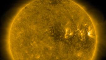FOTO Tormenta solar azota la Tierra, podría afectar telecomunicaciones (Twitter)