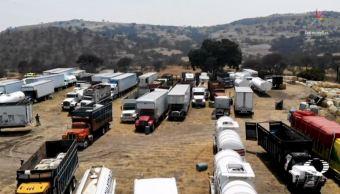 Los asaltan y las autoridades abusan, esto padecen los transportistas en Puebla
