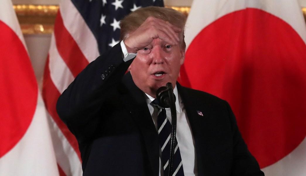 Trump llega a Japón para conocer al emperador Naruhito y revisar la agenda global con Abe