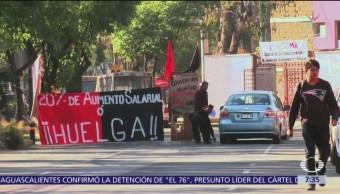 FOTO: UAM cumple tres meses en huelga este 1 de mayo, 1 MAYO 2019