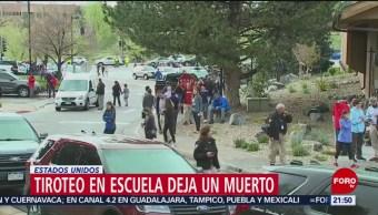 Foto: Muerto Tiroteo Escuela De Colorado EU 7 de Mayo 2019