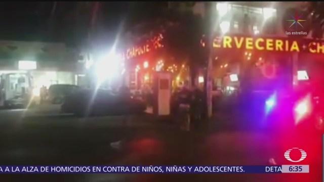 Un muerto y 11 heridos por ataque en bar de Playa del Carmen