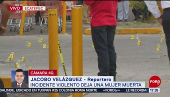 Foto: Una mujer muere en incidente en Ecatepec