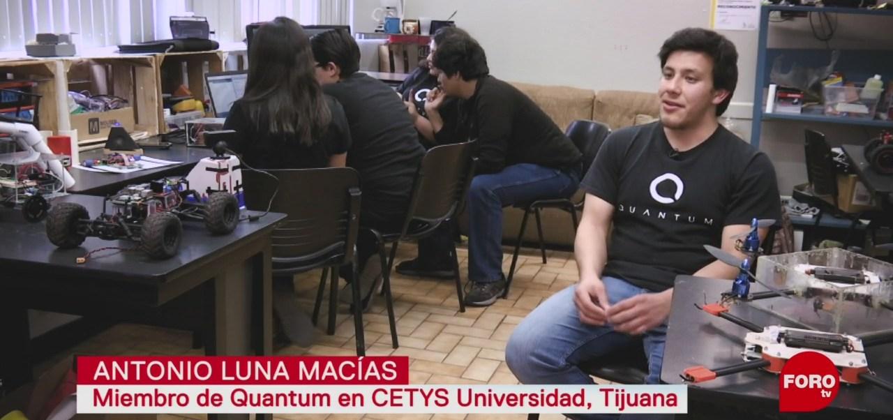FOTO: Universitarios de Tijuana crean satélites y robots, 5 MAYO 2019