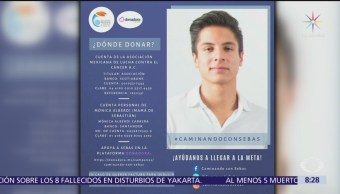 Universitarios lanzan campaña a favor de un compañero con cáncer
