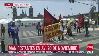 FOTO: Vecinos de Culhuacán demandan devolución de predio