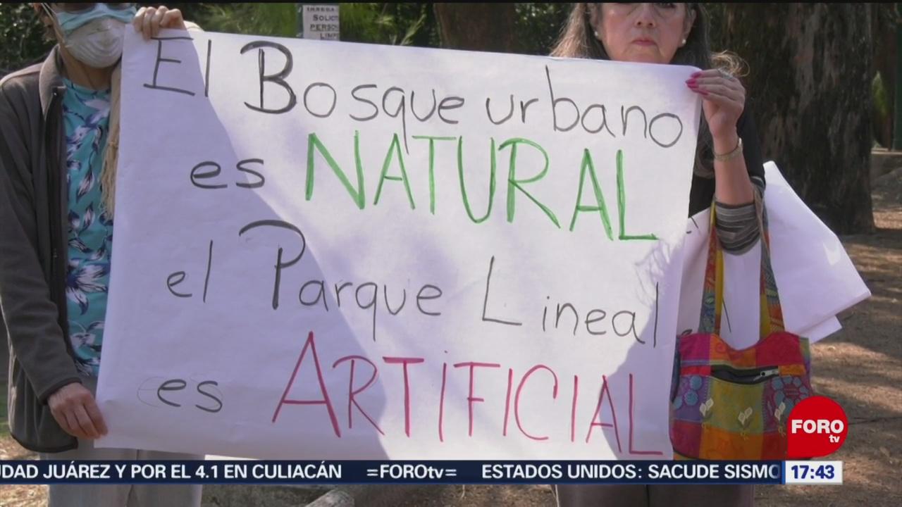 Foto: Vecinos demandan compromiso del gobierno para respetar árboles