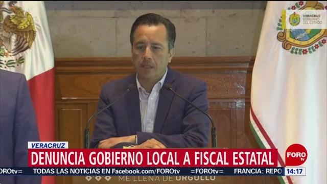 Foto: Veracruz denuncia al fiscal estatal