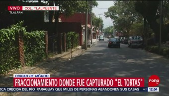 Video del fraccionamiento donde fue capturado 'El Tortas'