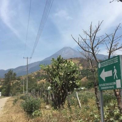 Realizan censo en poblaciones cercanas al Volcán de Fuego de Colima