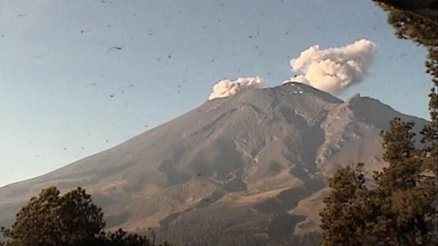 Foto: El volcán Popocatépetl registró 32 exhalaciones y la emisión de ceniza, 25 mayo 2019