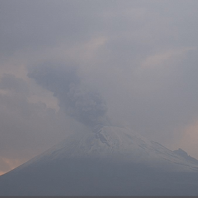 AMLO: Semáforo del Popocatépetl regresa a fase preventiva