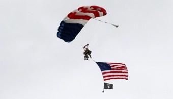 foto Veterano de 97 años salta en paracaídas en el 'Día D' 5 junio 2019
