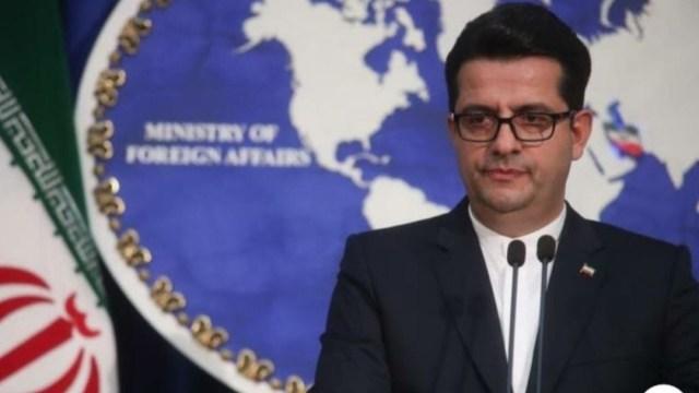 Foto: El portavoz del Ministerio iraní de Exteriores, Abas Musaví, 22 junio 2019