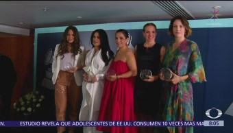 Academia Latina de Grabación reconoce a mujeres líderes de México