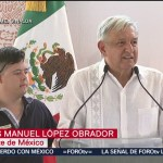 FOTO: En Sinaloa, el presidente Andrés Manuel López Obrador, afirma que el acuerdo con Estados Unidos evitó una crisis económica en México