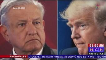 Foto: Acuerdo México-EEUU Migrantes Ellos No Saben 12 Junio 2019