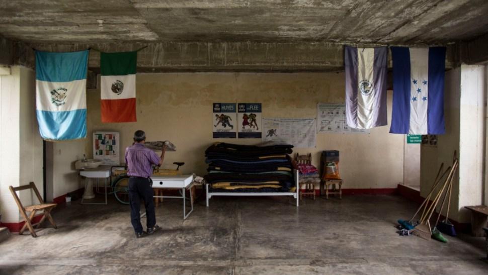 Foto: Albergue para migrantes en Arriaga, Chiapas, 22 de junio de 2019, México