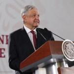 Foto: El presidente de México, Andrés Manuel López Obrador, en conferencia de prensa., 5 junio 2019