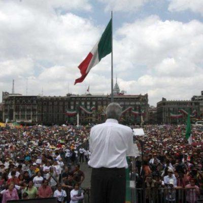AMLO convoca al Zócalo el 1 de julio para informar los avances de su gobierno