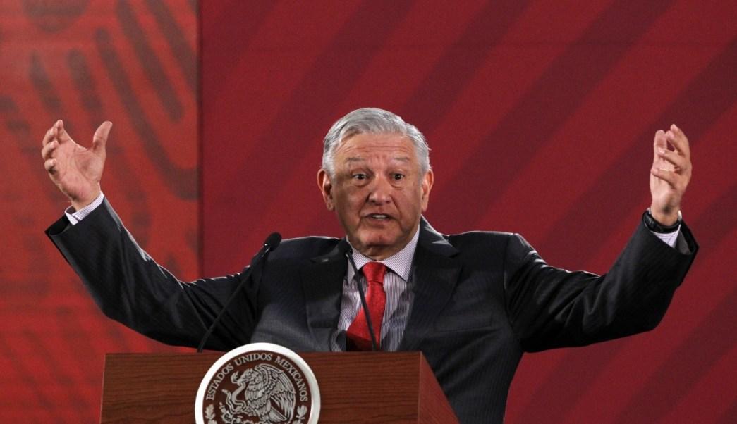 FOTO López Obrador defiende derecho a opinar sobre Santa Lucía (EFE 17 junio 2019 cdmx)