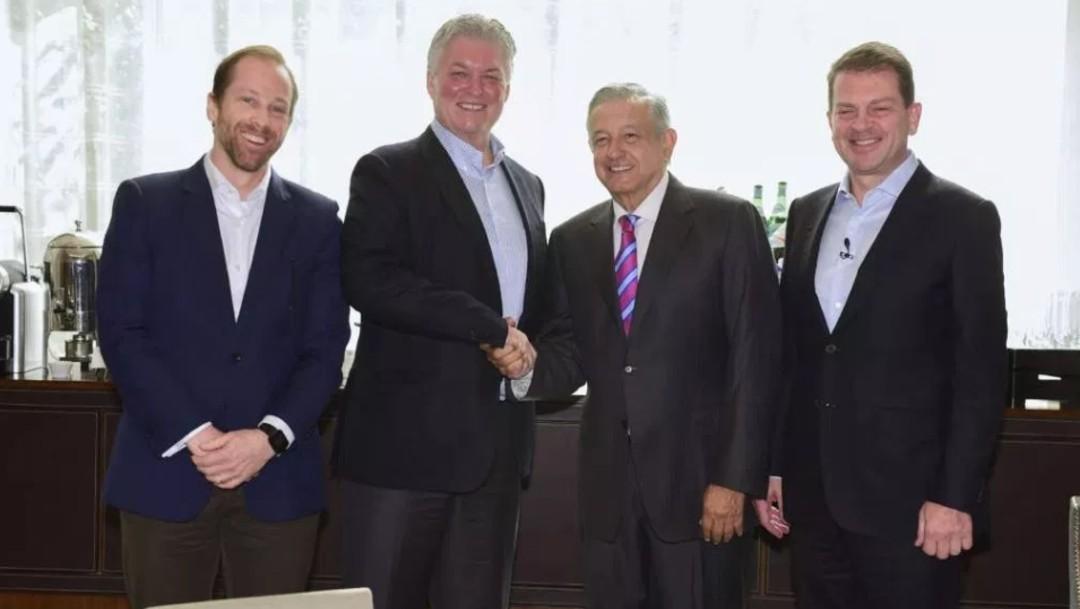 López Obrador se reunió con un grupo de banqueros en mayo, 30 de mayo de 2019, Ciudad de México