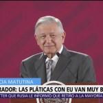 AMLO: Se podría lograr acuerdo sobre aranceles con EU antes del 10 de junio
