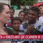 FOTO: Angeline Jolie visita frontera entre Colombia y Venezuela