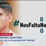 Armando Martínez: Autoridades no siguieron protocolo sobre desaparición de Norberto Ronquillo