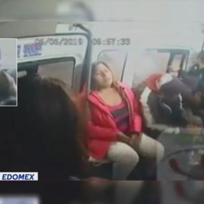 Video: Disparan a pasajero durante asalto en Autopista México-Pachuca, Tecámac