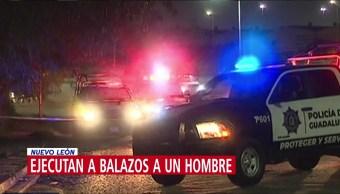 Asesinan a balazos a un hombre en Nuevo León