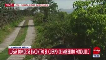 Así es el predio donde encontraron el cuerpo de Norberto Ronquillo