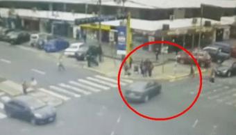 Foto: Auto atropella a menores de edad en Lima, 4 de junio de 2019, Lima, Perú