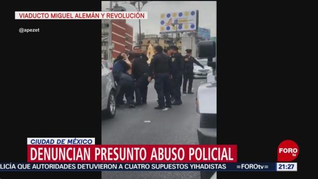 Foto: Automovilista Denuncia Presunto Abuso Policial Cdmx 25 Junio 2019