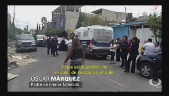 Foto: Bala Perdida Niño Nezahualcóyotl Edomex 25 Junio 2019