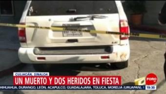 FOTO: Balacera en Sinaloa deja al menos un muerto y dos heridos, 29 Junio 2019