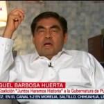 FOTO: Barbosa hace un llamado al dialogo a fuerzas políticas en Puebla, 2 Junio 2019