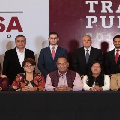 Miguel Barbosa anuncia a su equipo de transición, en Puebla