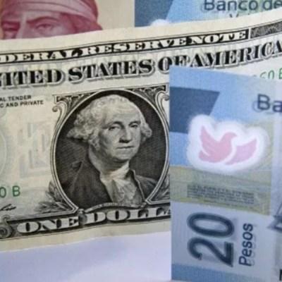 Peso mexicano registra leve ganancia en espera de decisión Banxico