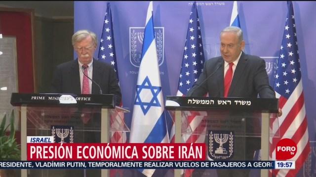 FOTO: Bolton advierte a Irán sobre ataque de Estados Unidos, 23 Junio 2019