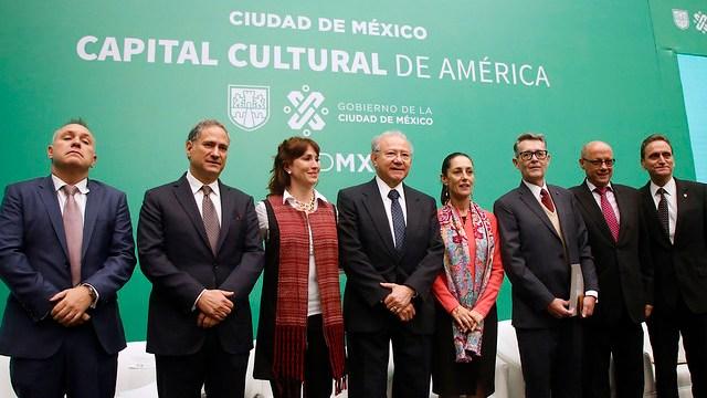 Ciudad de México, promovida como capital cultural de América