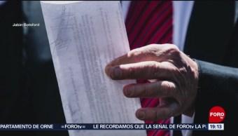 Foto: Imagen Acuerdo México Trump 6 Junio 2019