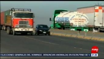 Foto: Carreteras Puebla Más Peligrosas Transporte Carga México 19 Junio 2019