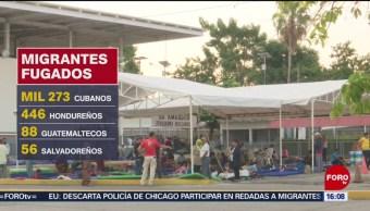 FOTO: Casi 2 mil migrantes han escapado de estaciones migratorias en México, 23 Junio 2019