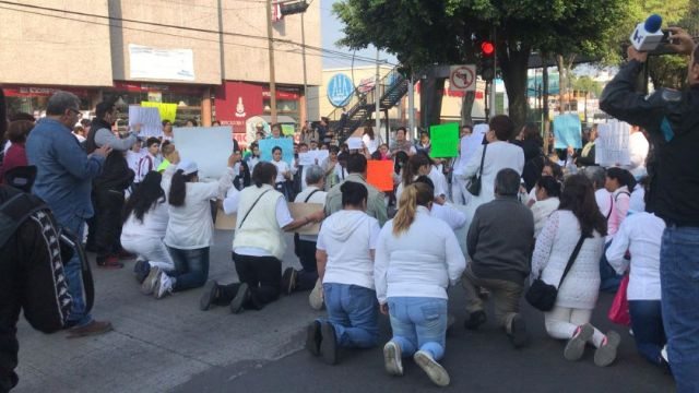 Foto Caso Avendaño: Bloquean Insurgentes por sacerdote detenido 20 junio 2019
