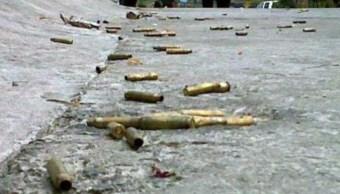 Foto: Al menos 4 muertos deja un enfrentamiento en la sierra de de Heliodoro Castillo, Guerrero, ubicado a cinco horas de Chilpancingo, junio 16 de 2019 (Imagen: noventagrados.com)