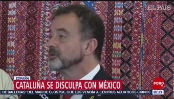 Foto: Cataluña Disculpa México Conquista 20 Junio 2019